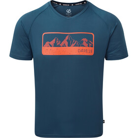 Dare 2b Righteous II T-shirt Homme, majolica blue